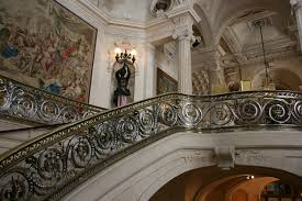 Staircase of the château de nantouillet. Schloss Chantilly Handlauf Treppe Kostenloses Foto Auf Pixabay