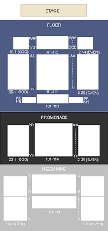 Best Buy Theater New York Ny Seating Chart Stage New