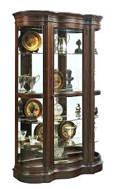 curved china cabinet glass antique curved glass curio cabinet value used china cabinet glass door cabinet