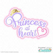 Download our free svg files and use them in your electronic cutter such as silhouette and cricut machines. Princess At Heart Free Svg File Free Svgs For Silhouette Cricut