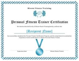 7 Training Certificate Templates Free Download Hloom