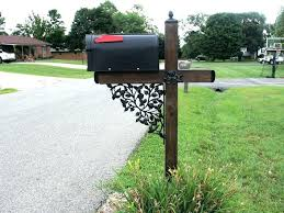 custom metal mailbox. Exellent Mailbox Custom Metal Mailbox Post Beautiful On Other For Decoration Mailboxes And  Posts Within 16 N