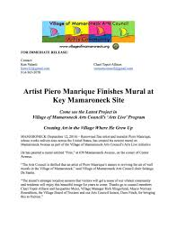mural press release post finish