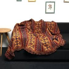heritage throw colorful blanket decor boho blankets