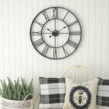office large size floor clocks wayfair. Oversized Eisenhauer 30\ Office Large Size Floor Clocks Wayfair