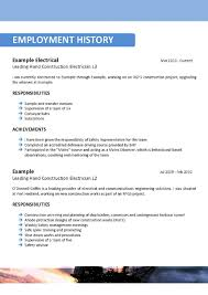 Resume Template Offshore Resume Samples Free Resume Template