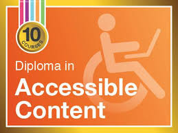 diploma in accessible content online writing courses   diploma in accessible content teaches how to write content for wcag 2 accessibility guidelines suitable for