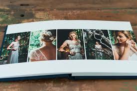 Wedding Photos Albums Navy Fabric Covered Fine Art Wedding Album