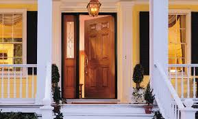 encompass fiberglass or steel entry door
