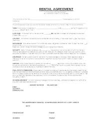 One Page Lease Agreement Photos Of Simple Rental Agreement Best One Page Lease Forms