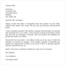 Two Weeks Notice Letter For Daycare Free Two Weeks Notice My Letter Sample Ringrepair Co