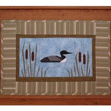 MH Designs Loon Lake Wall Art Quilt Pattern 11 1/2 X 17 | eBay &  Adamdwight.com