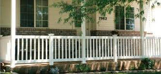 what kind of railing can i use with rounded porch posts