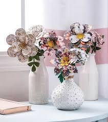 Paper Flower Bouquet In Vase How To Make A Paper Flower Bouquet Joann