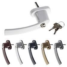Fenstergriff Junos Lock Abschließbar Inkl Schlüssel Zubehör