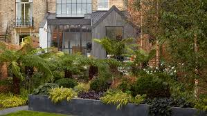 Cornerstone Landscape And Design London Townhouse Updated With Pared Back Materials And Patterns