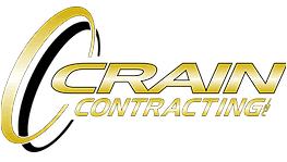 crain logo. crain contracting inc. - logo