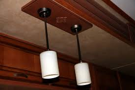 image of repairing rv light fixtures