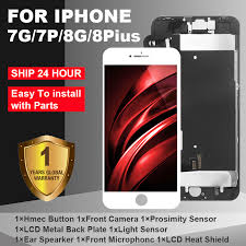 AAA+ LCD For iPhone 7 7Plus iPhone 8 8Plus LCD Full Assembly ...