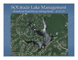 Solitude Lake Management Woodland Pond Lakefront Association