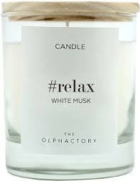 <b>Свеча ароматическая Ambientair</b> Relax Белый Мускус, 40 ч ...