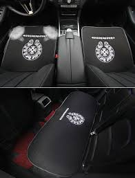 name 3pcs best plush chrome hearts car seat cushions covers universal winter auto mats sets black