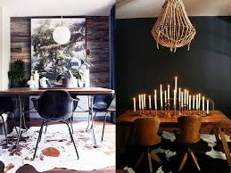 cowhides and dining rooms