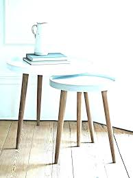 very narrow side table long slim small tall white bedside round nice sm