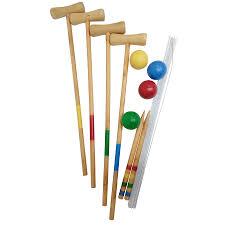 wooden croquet set ogskb 0