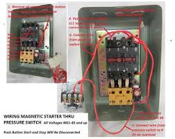 wiring phase pressure switch wiring image wiring magnetic motor starter single phase or 3 phase 208 240v pmc on wiring 3 phase pressure