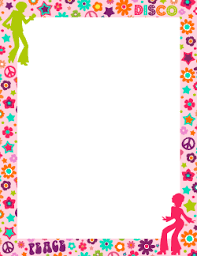 girly borders for microsoft word free page borders and frames