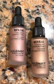 Algenist reveal serum foundation spf 15 with Brush, qVC