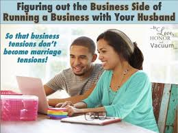 Husband use wife for business