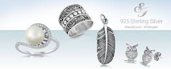 whole silver jewelry supplier of 925 sterling silver rings earrings bracelets necklace and more