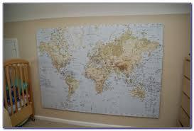 world map canvas print ikea vincegray2016