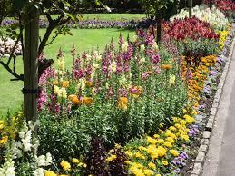 flower garden design. Flower Bed Garden Design
