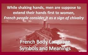Body Language Meanings French Body Language Symbols And Meanings