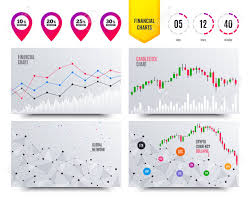 Financial Planning Charts Sale Discount Icons Special Offer