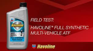 Havoline Full Synthetic Multi Vehicle Atf Chevron