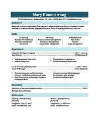 airy traditional resume template traditional resume template