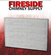 Refractory Panels  SweepMasters Professional Chimney Services Fireplace Refractory Panels
