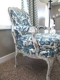 Blue Patterned Chair Simple Patterned Upholstered Dining Chairs Chairs Upholstered Armchairs