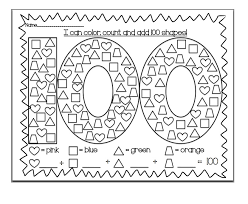 Small Picture 100th day of school coloring pages Printable Kids Super Day