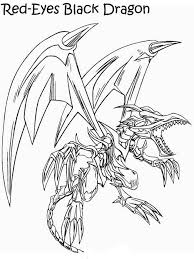Yugioh Dragon Coloring Pages At Getdrawingscom Free For Personal