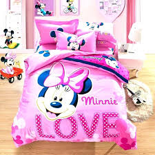 Minnie Mouse Full Size Comforter Mouse Twin Bedding Set Mouse ...