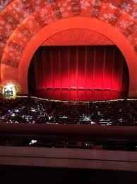 Radio City Music Hall Section 2nd Mezzanine 4 Row A Seat