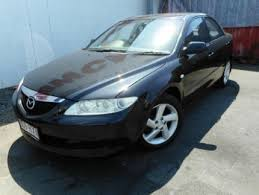 mazda 6 2004 black. 2004 mazda 6 gg1031 my04 classic black 4 speed sports automatic sedan