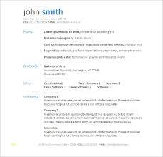 Inspirational Download Resume Templates Word Best Sample Excellent