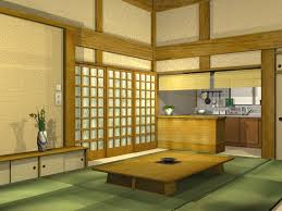 Traditional Japanese House In Japan. on traditional japanese kitchen