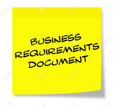 Business Requirements Document Written On A Yellow Sticky Note ...